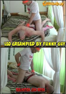 Leo Creampied By Funny Guy