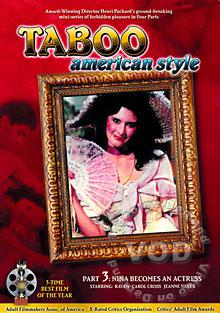 Taboo American Style Part 3 - Nina Becomes An Actress Box Cover