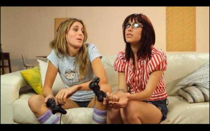 Kara Price and Sasha Sweet in Lily Cade's Live Nerd Girls