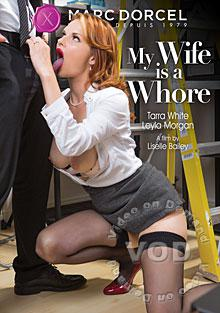 my wife is a whore box cover