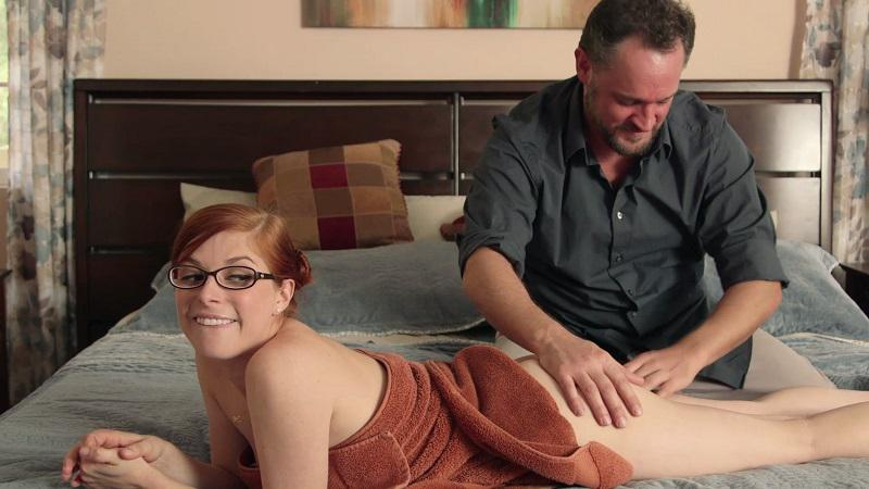 Penny Pax and Alec Knight have anal sex in Our Father from New Sensations