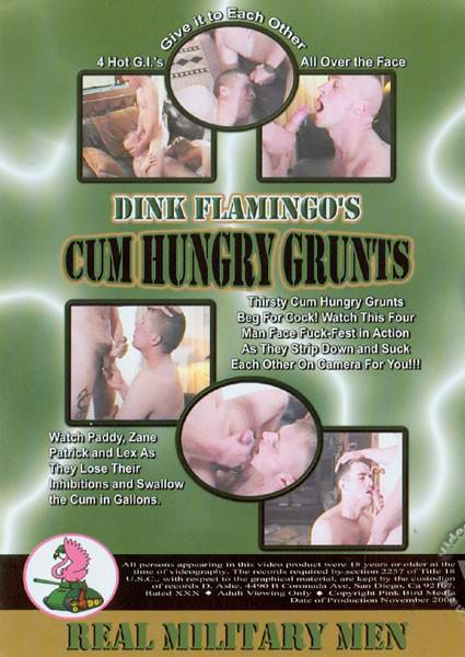 Cum Hungry Grunts Cover Back
