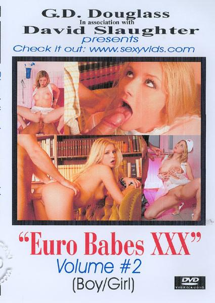 Euro Babes XXX Volume #2 Box Cover
