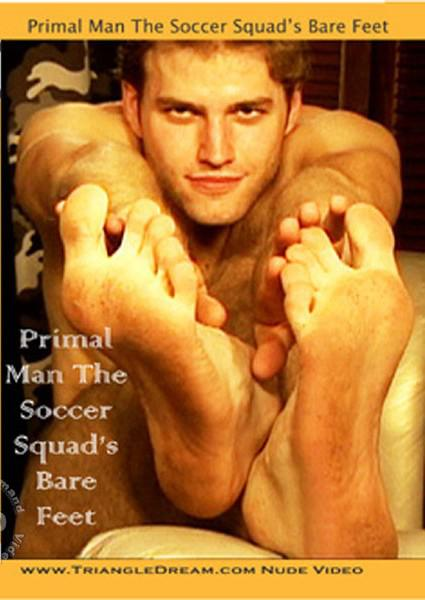 Primal Man The Soccer Squad's Bare Feet Box Cover
