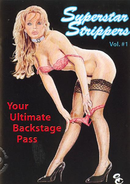 Superstar Strippers Vol. #1 Box Cover