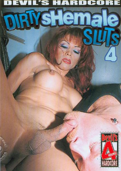 Dirty Shemale Sluts 4 Box Cover