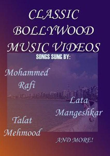 Classic Bollywood Music Videos Box Cover