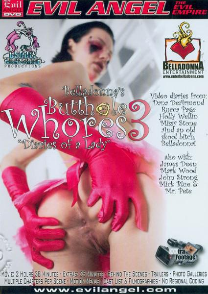 Belladonna's Butthole Whores 3 Box Cover
