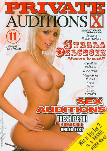 Sex Auditions 11 Box Cover
