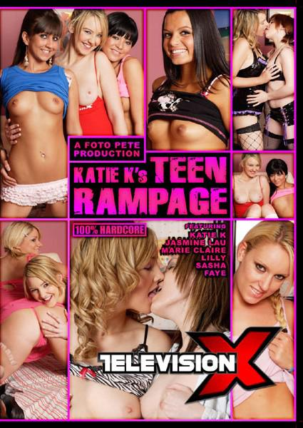 Katie K's Teen Rampage Box Cover