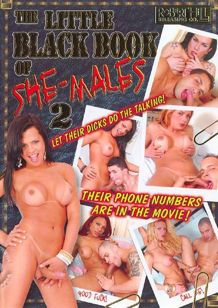 The Little Black Book Of She-Males 2 Box Cover