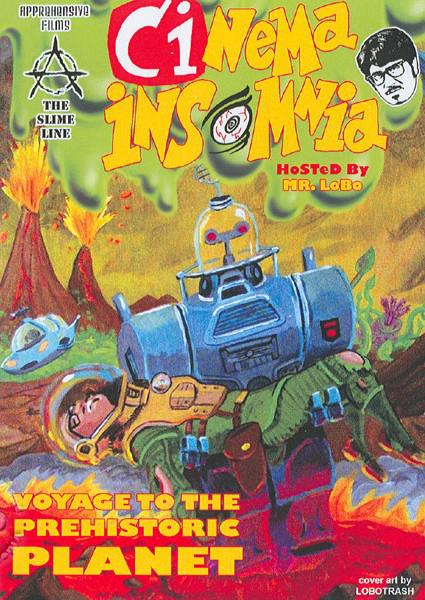 Cinema Insomnia - Voyage To The Prehistoric Planet Box Cover