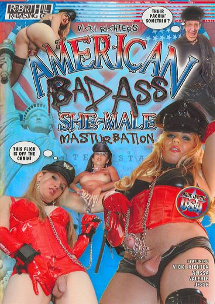 American Bad Ass She-Male Masturbation Box Cover