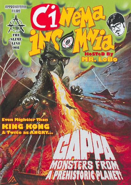 Cinema Insomnia: Gappa Monsters From A Prehistoric Planet Box Cover