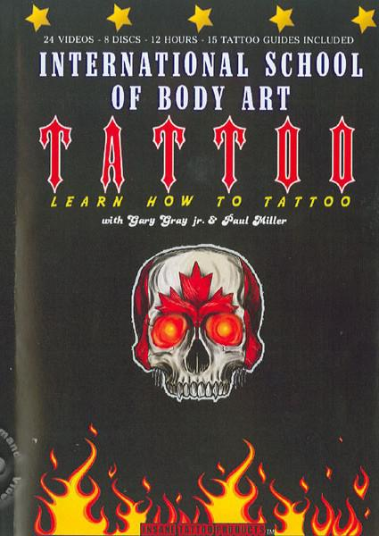 Learn How To Tattoo - Disc 2 Box Cover