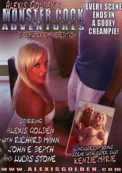 Alexis Golden's Monster Cock Adventures - Special Creampie Edition! Box Cover