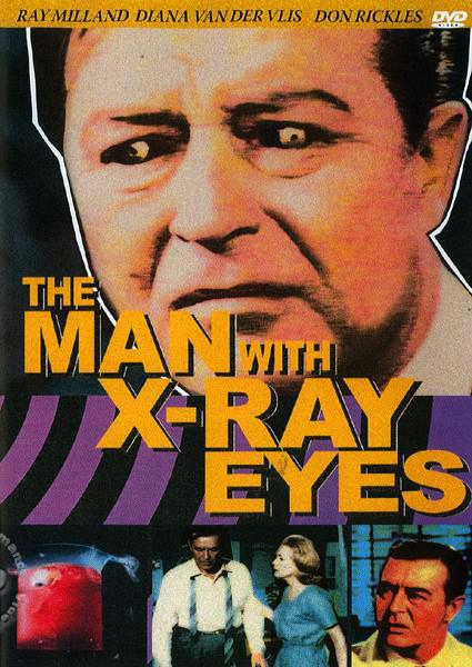 The Man With X-Ray Eyes Box Cover