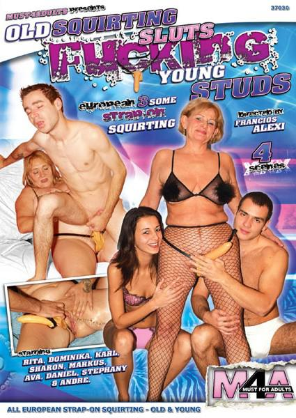 Old Squirting Sluts Fucking Young Studs Box Cover