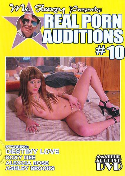 Mr. Sleazy Presents Real Porn Auditions #10 Box Cover