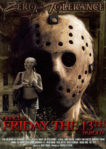 Official Friday The 13th Parody Box Cover