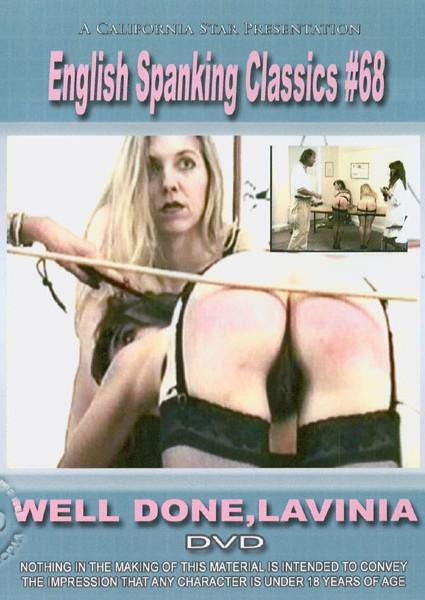 English Spanking Classics #68 - Well Done, Lavinia Box Cover