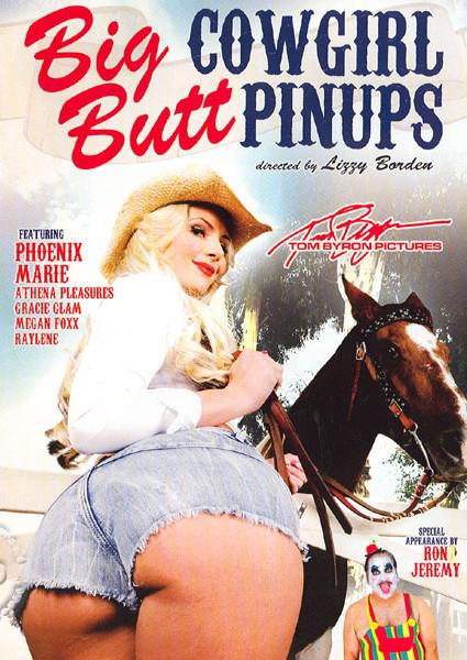 Big Butt Cowgirl Pinups Box Cover