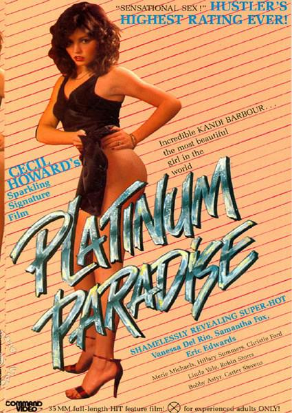 Cecil Howard's Platinum Paradise (Softcore) Box Cover