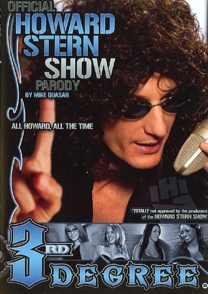 Official Howard Stern Show Parody Box Cover