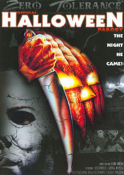 Official Halloween Parody Box Cover