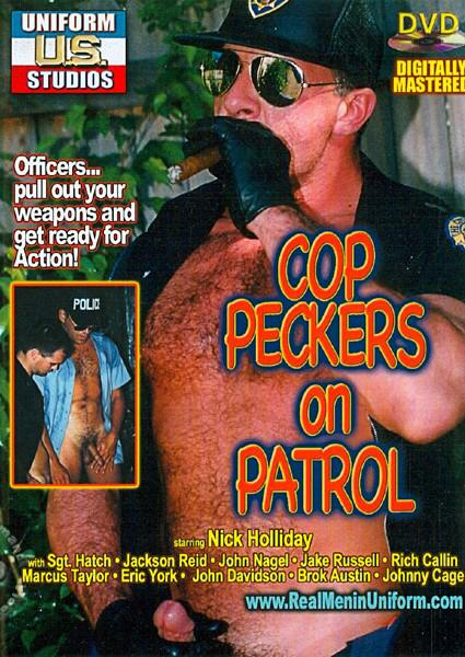 Cop Peckers On Patrol Box Cover