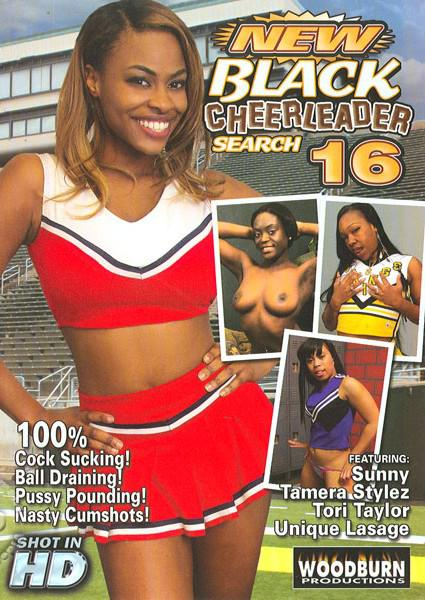 New Black Cheerleader Search 16 Box Cover
