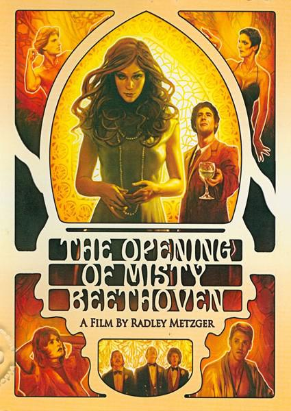 The Opening Of Misty Beethoven Director Commentary with Radley Metzger Box Cover