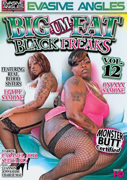 Big-Um-Fat Black Freaks Vol. 12 Box Cover