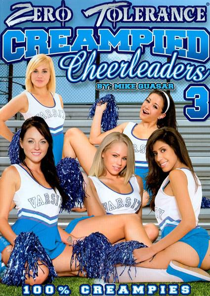 Creampied Cheerleaders 3 Box Cover