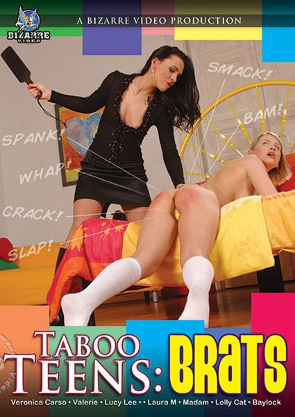 Taboo Teens: Brats Box Cover