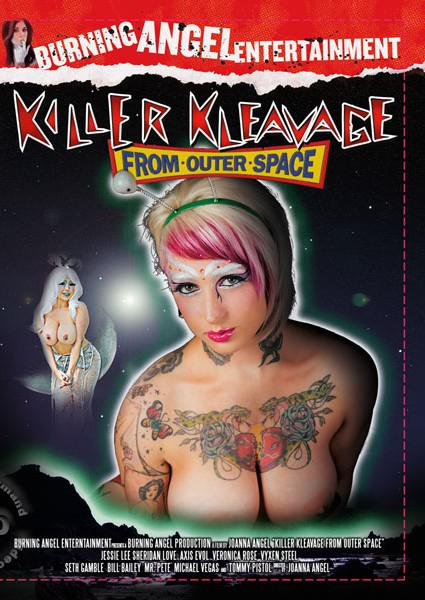Killer Kleavage From Outer Space Box Cover