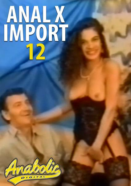 Anal X Import 12 Box Cover