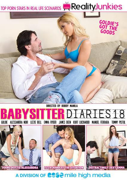 Babysitter Diaries 18 Box Cover