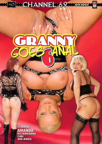 Granny Goes Anal 6 Box Cover