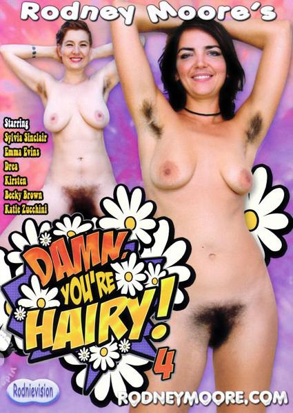 Damn You're Hairy! 4 Box Cover