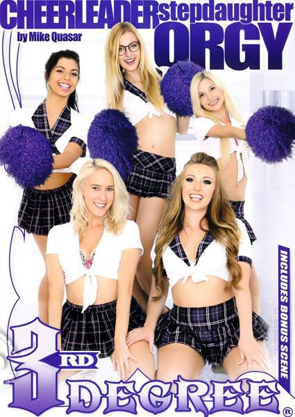 Cheerleader Stepdaughter Orgy Box Cover