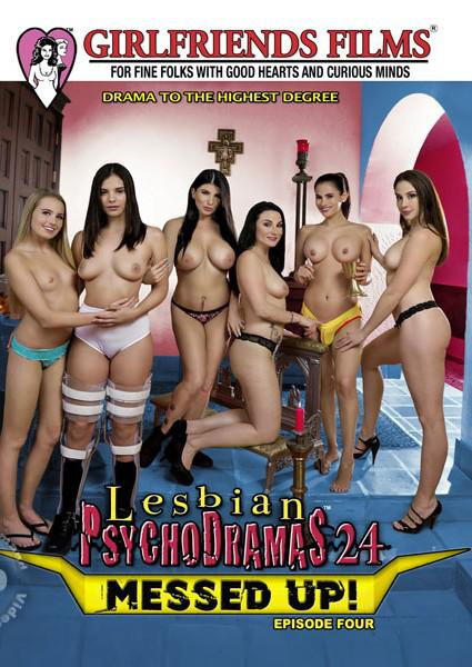 Lesbian Psychodramas Volume 24- Messed Up! Episode Four Box Cover - Login to see Back