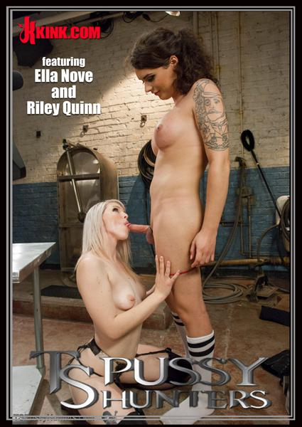 TS Pussy Hunters - Brand New Dom Riley Quinn On TS Pussy Hunters For The First Time Box Cover