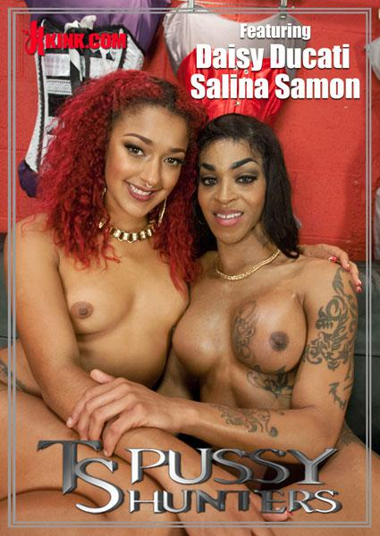 TS Pussy Hunters - Daisy Ducati Gives TS Salina Samone A FootJob Box Cover