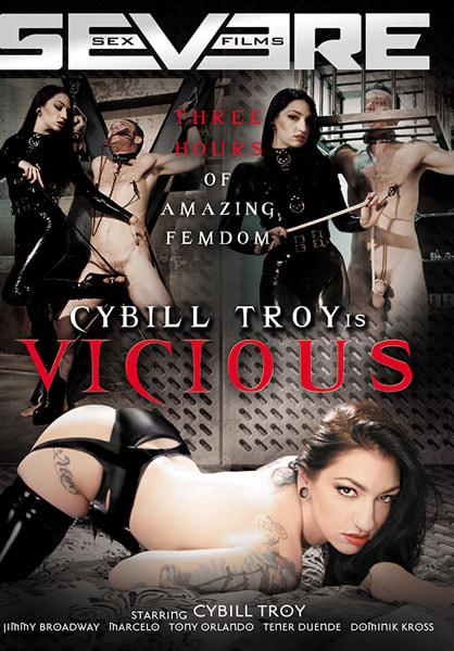 Cybill Troy is Vicious Box Cover