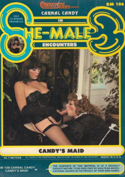 She-Male Encounters 106 - Candy's Maid Box Cover