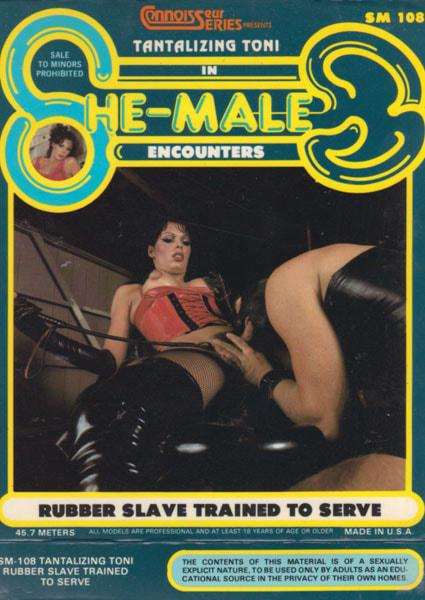 She-Male Encounters 108 - Rubber Slave Trained To Serve Box Cover