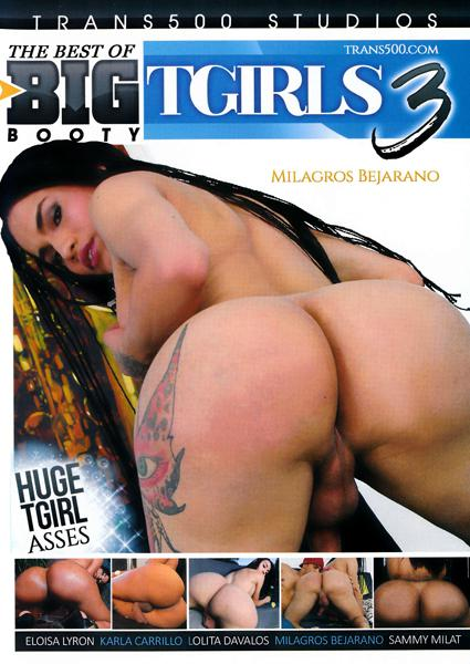 The Best of Big Booty T Girls 3 Box Cover