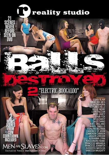 Balls Destroyed 2 - Electric Boogaloo Box Cover