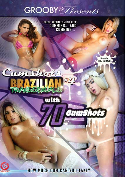Brazilian Transsexuals Cumshots #4 Box Cover